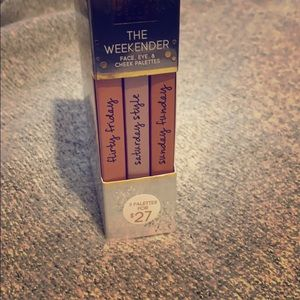 The Weekender Face Eye Cheek Palette Laura Geller